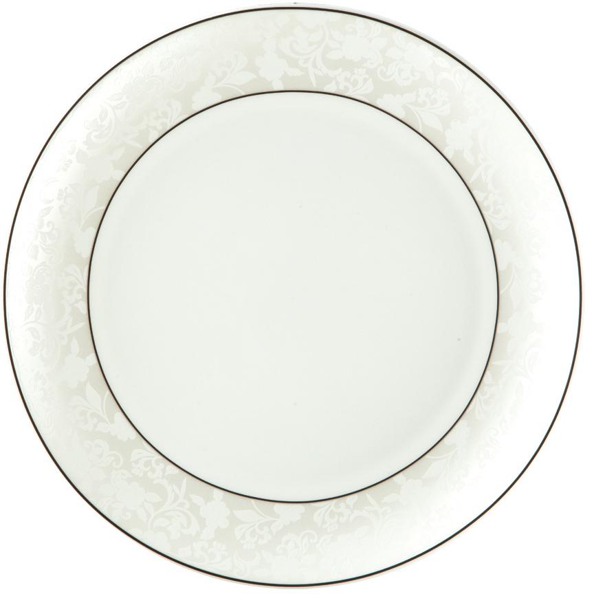 Блюдо Royal Aurel Пион белый, овальное, 31 см tanite victoir platineatine 1489 блюдо овальное 35 см цвет белый с платиной