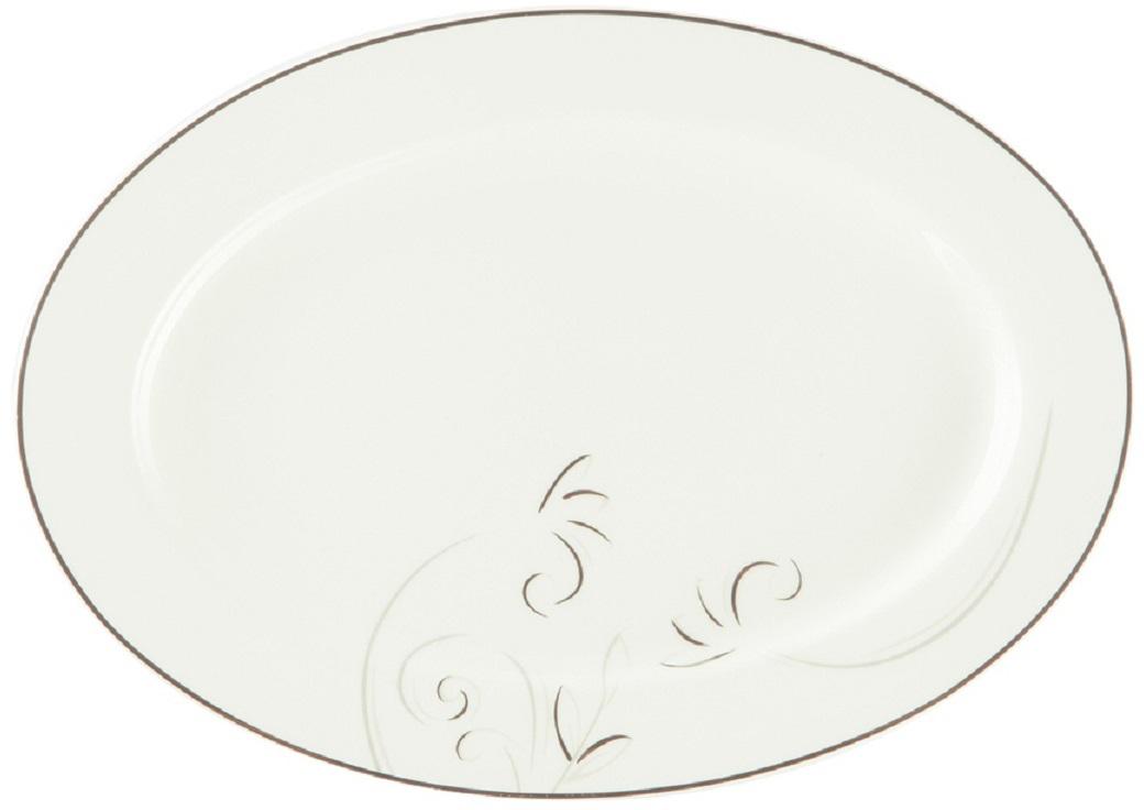 Блюдо Royal Aurel Лоза, овальное, 31 см908Лоза блюдо овальное 31 см 1 шт. Материал: костяной фарфор. Фарфор Royal Aurel отличается исключительной белизной, что объясняется уникальными компонентами и традиционной технологией, по которой он был изготовлен. Белая глина из провинции Фуцзянь и традиционные рецепты китайских мастеров создают неповторимую композицию. Дизайн коллекций выполнен в соответствии с актуальными европейскими тенденциями.