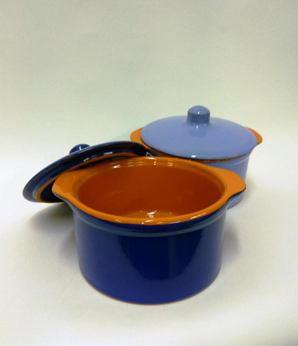 Кастрюля Борисовская керамика Радуга, 500 мл, 4 предметаРАД14456738Набор 2 кастрюли керамических №3 (П) РАД14456738. Материал: Керамика. Объем: 0,5