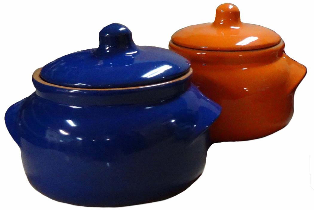Набор горшочков для запекания Борисовская керамика Новарусса, 500 мл, 2 шт
