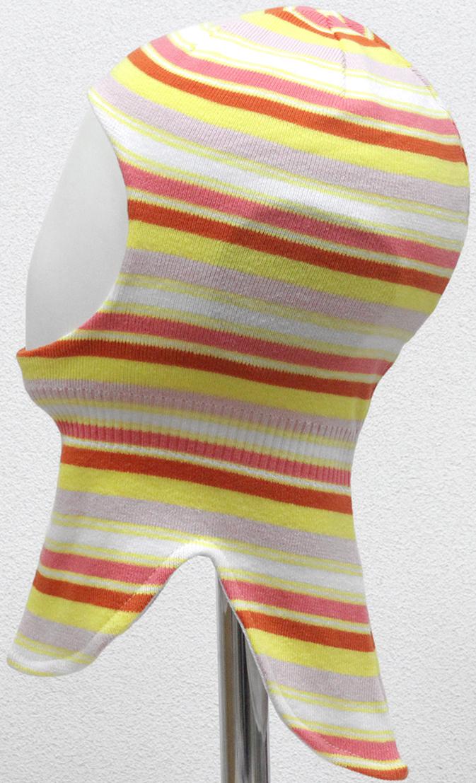 Шапка-шлем для девочки Marhatter, цвет: желтый. MGT6712/5. Размер 50/52MGT6712/5Шлем для девочек Marhatter изготовлен из хлопка. Хлопковая подкладка. Для детей от 3 лет. Уважаемые клиенты!Размер, доступный для заказа, является обхватом головы.
