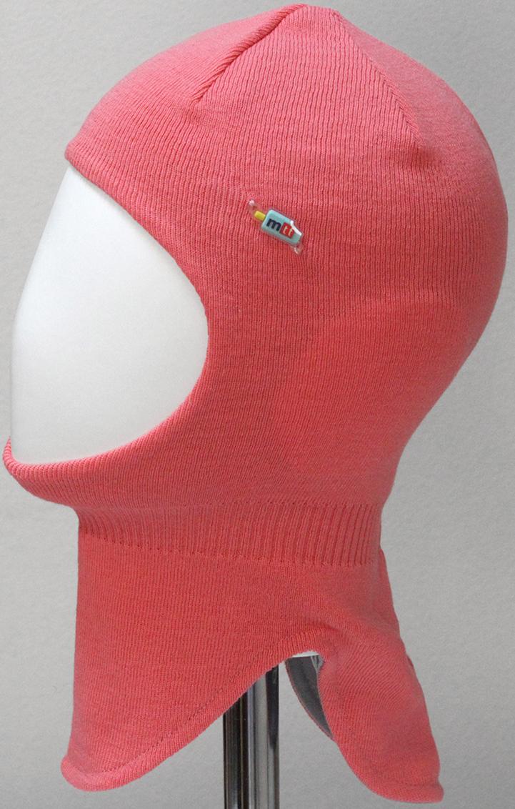 Шапка-шлем для девочки Marhatter, цвет: коралловый. MGT6603/5. Размер 50/52MGT6603/5Шлем для девочек Marhatter изготовлен из хлопка. Модель украшена силиконовой нашивкой. Хлопковая подкладка. Для детей от 3 лет. Уважаемые клиенты!Размер, доступный для заказа, является обхватом головы.