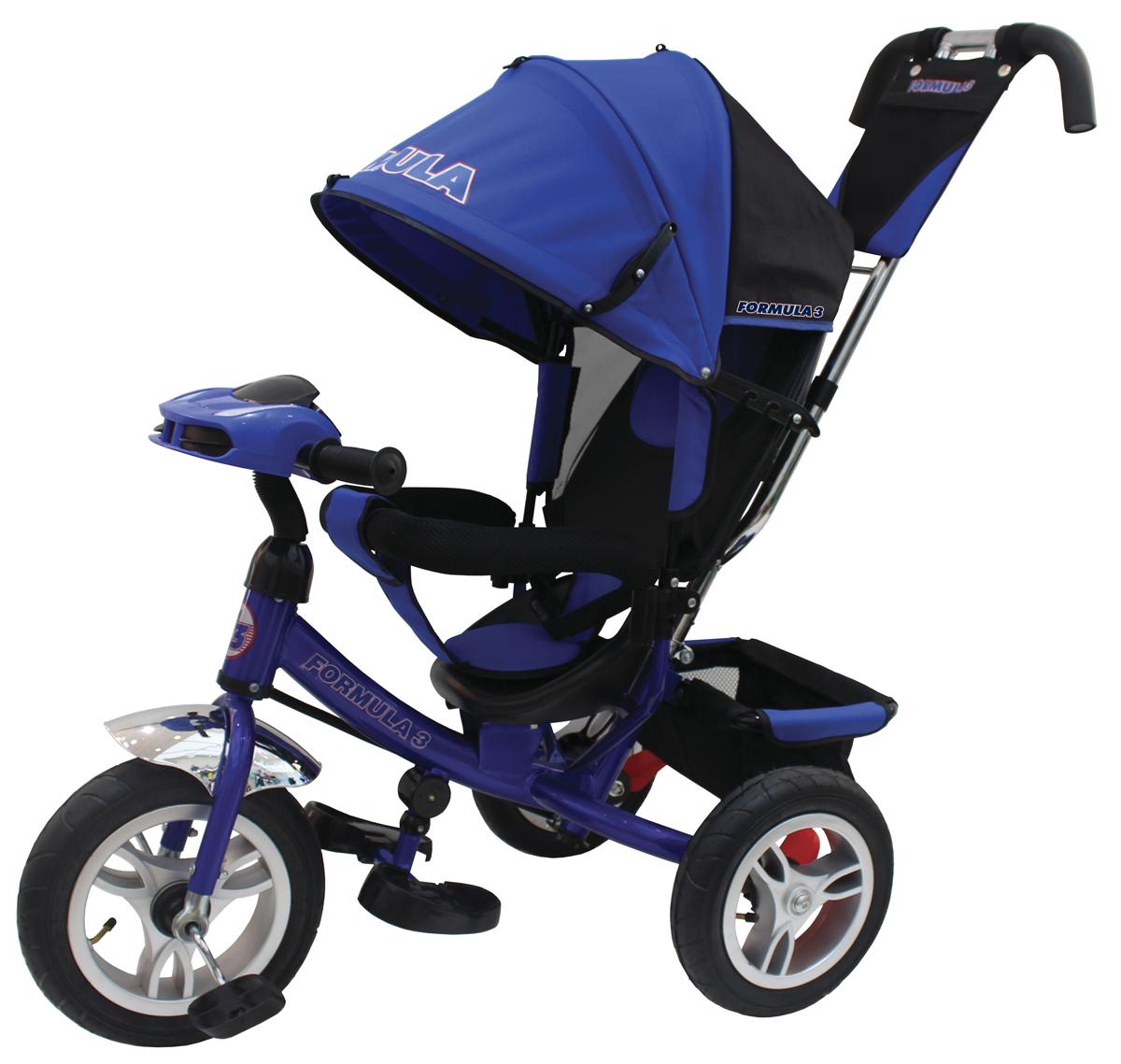 Formula 3 Велосипед трехколесный цвет синий FA3B велосипед 3 х колесный puky трехколесный велосипед cat 1l capt n sharky
