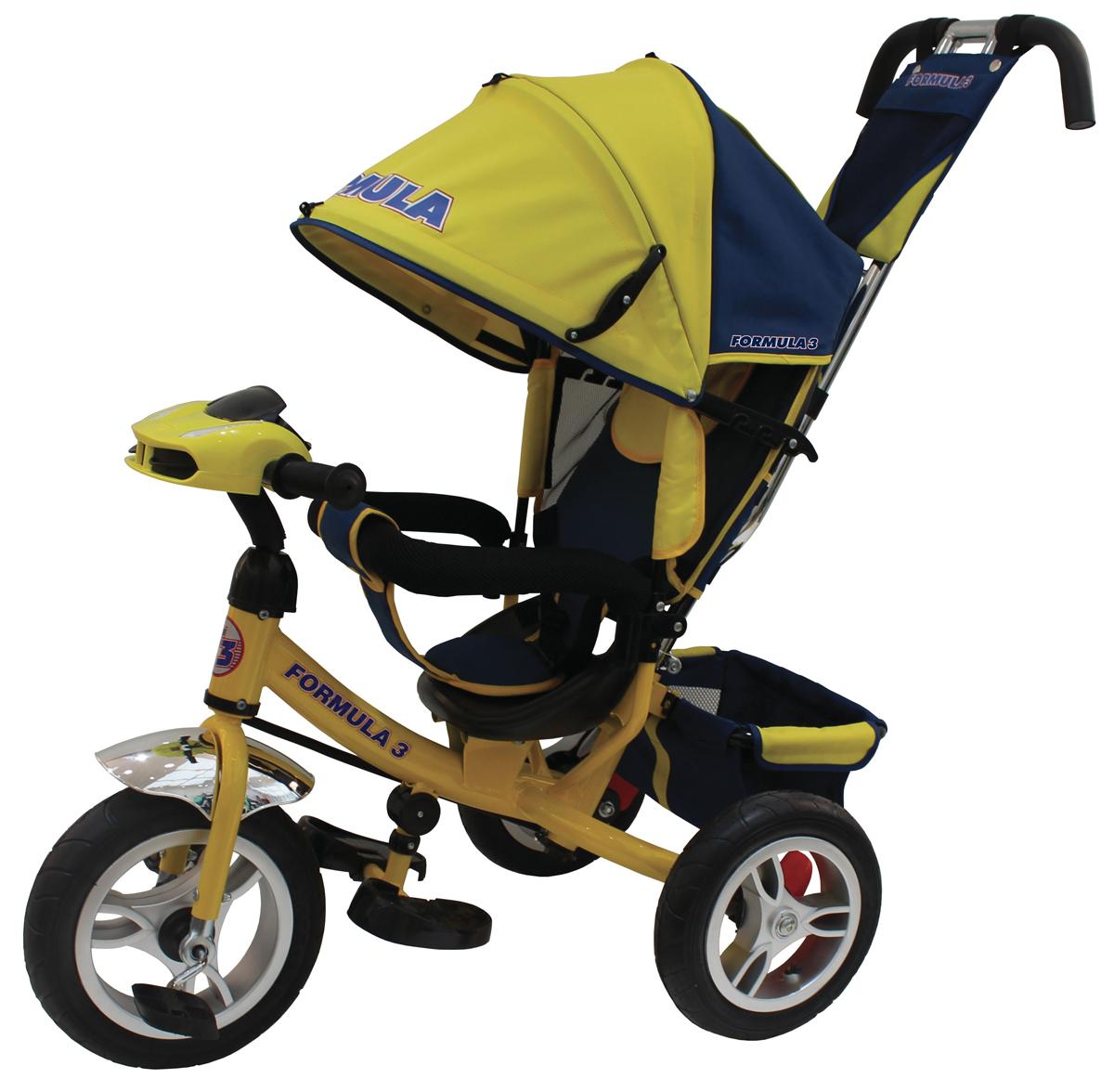 Formula 3 Велосипед трехколесный цвет желтый FA3Y велосипед 3 х колесный puky трехколесный велосипед cat 1l capt n sharky