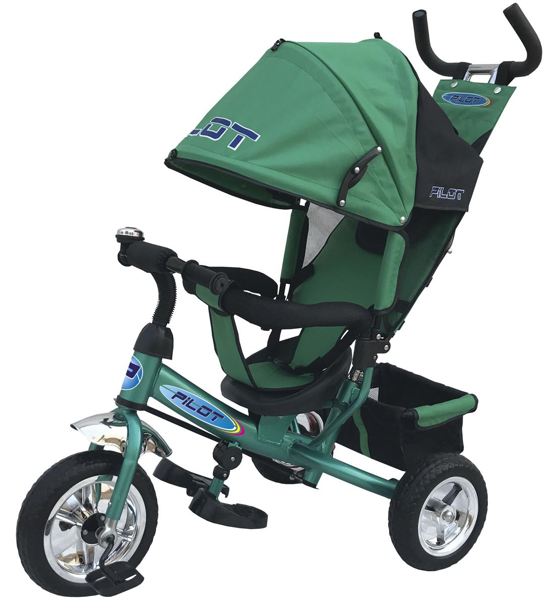 Pilot Велосипед трехколесный цвет зеленый PT3G