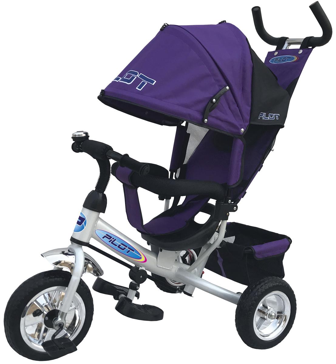 Pilot Велосипед трехколесный цвет фиолетовый PT3V велосипед kellys cristy 60 2017