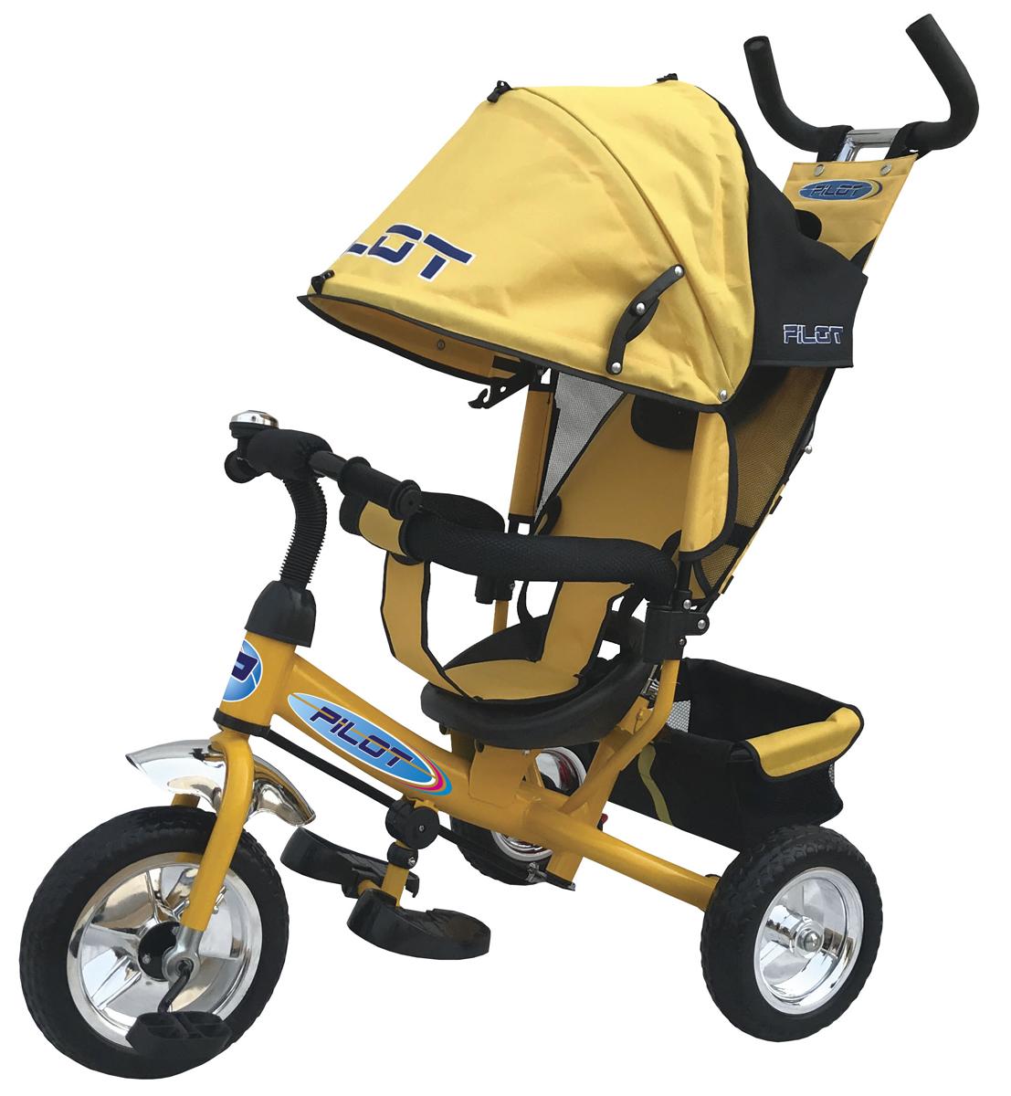 Pilot Велосипед трехколесный цвет желтый PT3Y