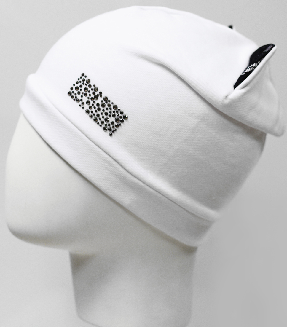 Шапка для девочки Marhatter, цвет: белый. MGH7493. Размер 52/54 парник forhead mgh 03 green