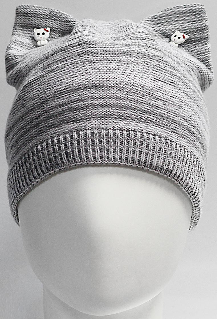 Шапка для девочки Marhatter, цвет: серый. MGH7439/5. Размер 52/54 парник forhead mgh 03 green