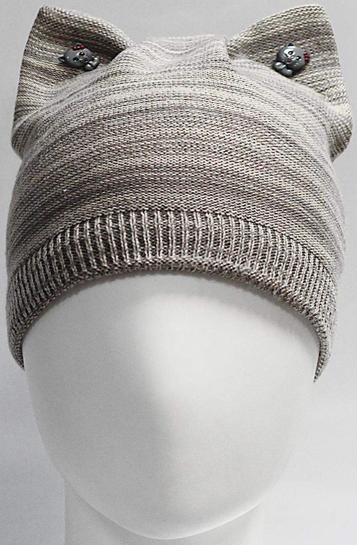 Шапка для девочки Marhatter, цвет: светло-бежевый. MGH7439/5. Размер 52/54 шапка young reporter для девочки цвет бежевый