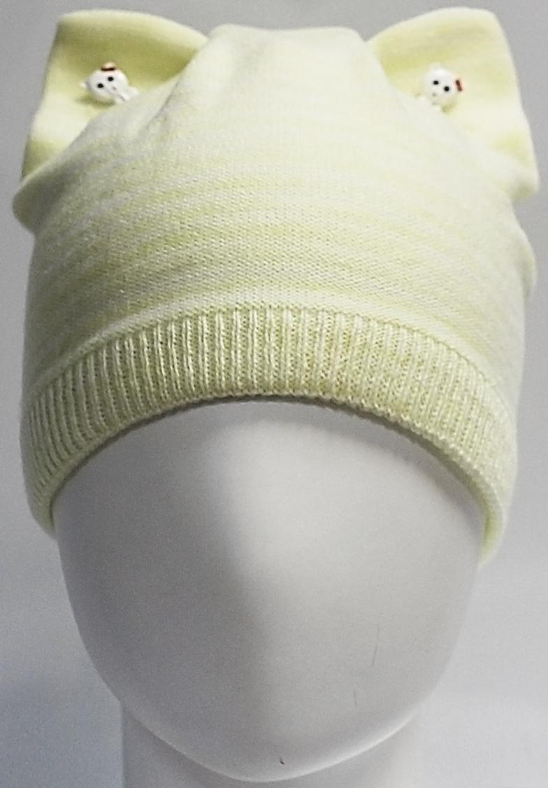 Шапка для девочки Marhatter, цвет: желтый. MGH7439/5. Размер 52/54 парник forhead mgh 03 green