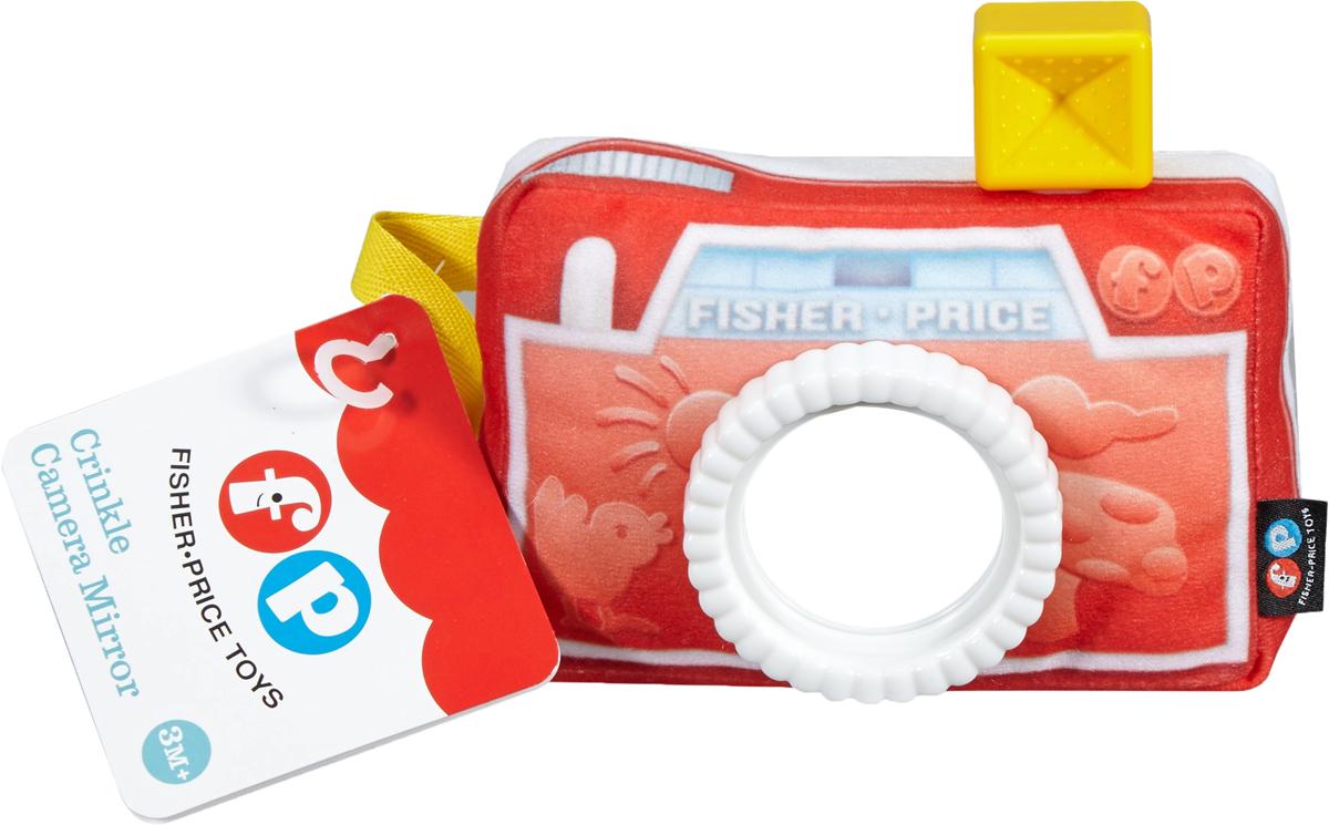 Fisher-Price Newborn Развивающая игрушка Фотоаппарат с зеркальцем мягкая игрушка фотоаппарат fisher price dfr11