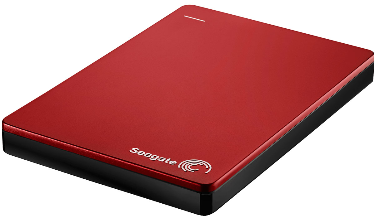 Seagate Backup Plus Portable 2TB, Red внешний жесткий диск (STDR2000203)