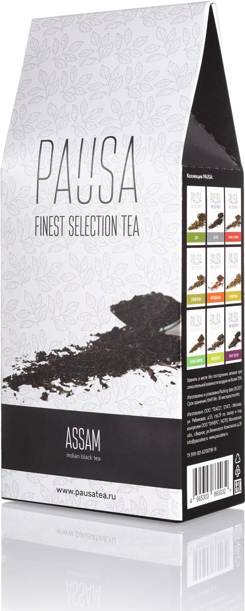 Pausa Ассам чай, 90 г4665303860032Индийский чёрный чай ОРА - один из самых популярных сортов чая в мире. Ассам обладает антиоксидантными и тонизирующими свойствами, заряжает энергией. Цвет настоя: Настой медно-коричневый, интенсивный, прозрачный. Аромат: Растительные и древесные ноты с присутствием сладких оттенков. Вкус: Готовый напиток обладает крепостью и балансом вкуса. Растительные и древесные ноты с присутствием сладких оттенков послевкусие - стойкое, таниновое, с преобладанием оттенков жженого сахара.