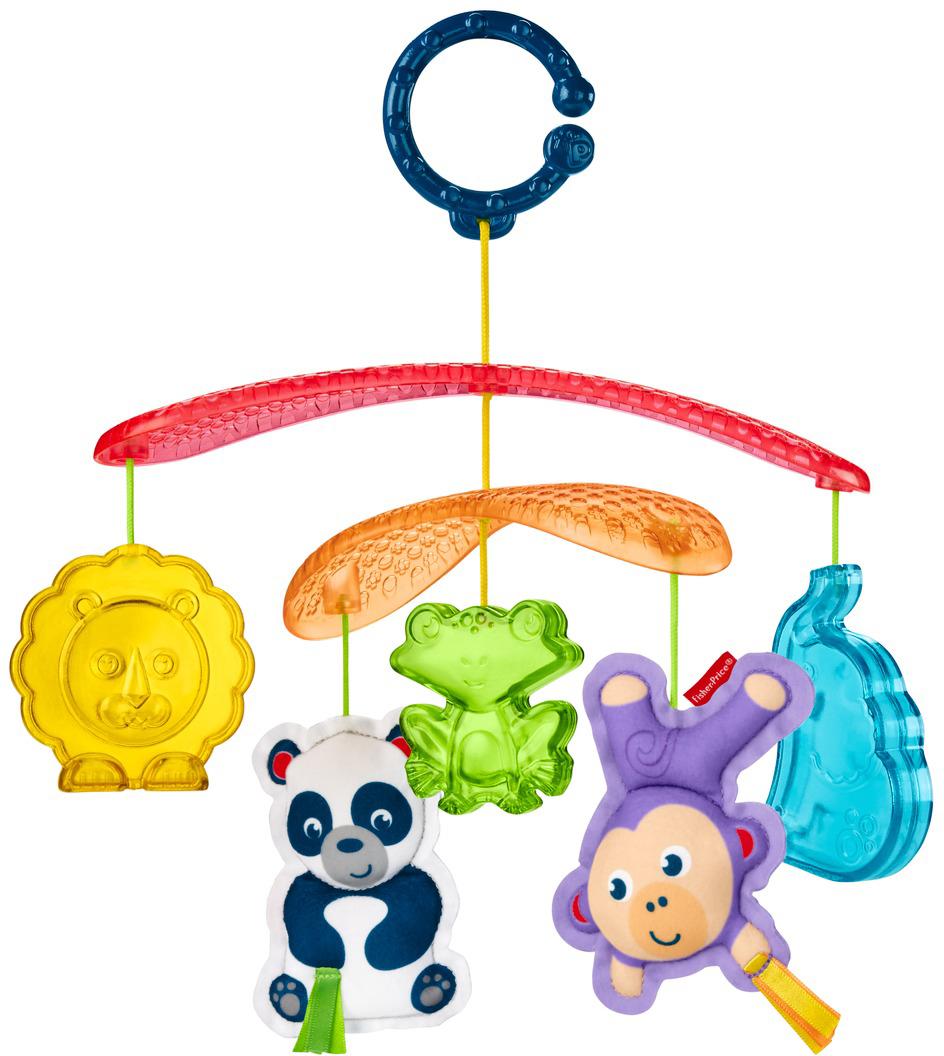 Fisher-Price Newborn Мобиль Веселые животные - Игрушки для малышей