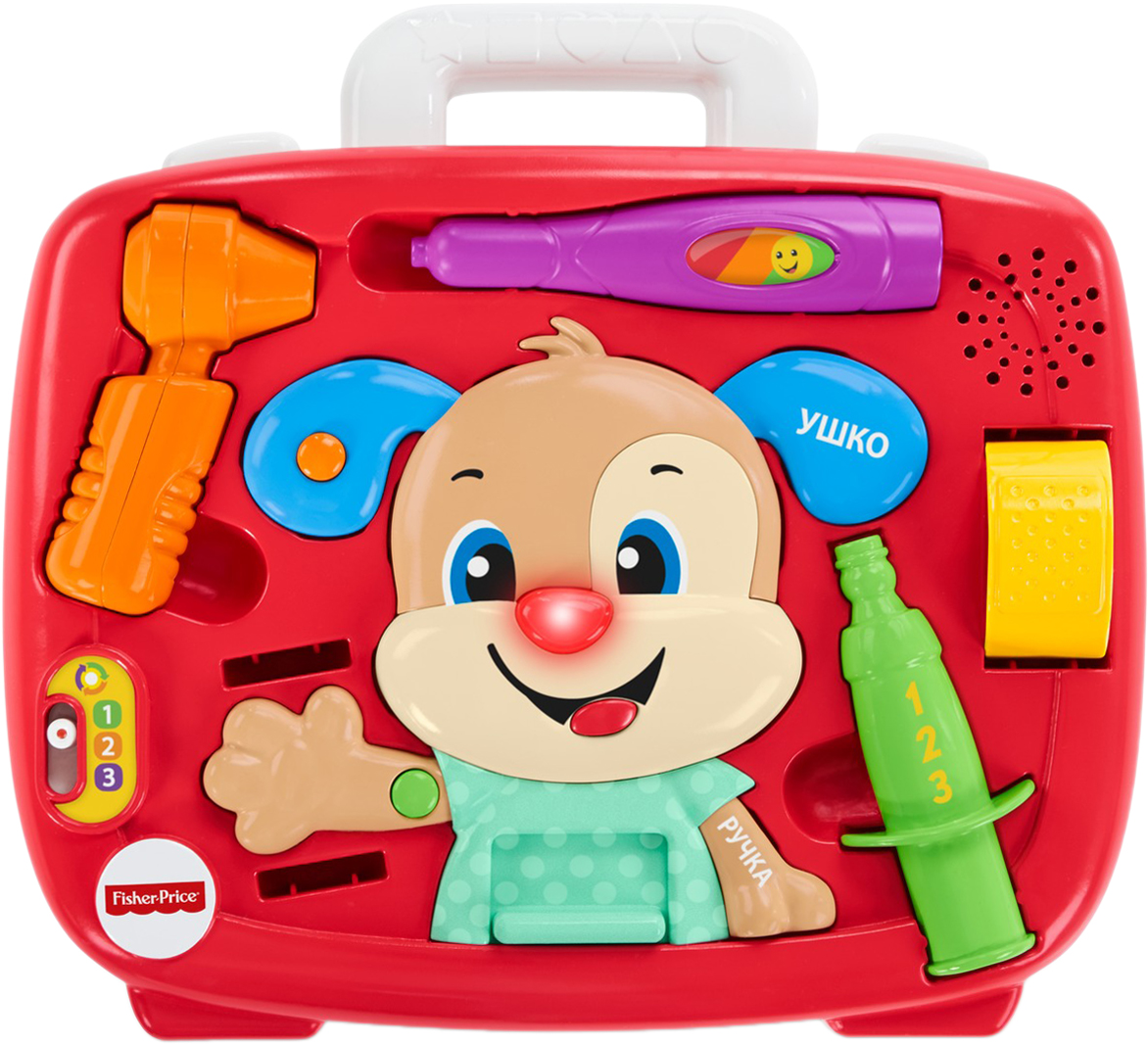 Fisher-Price Детский медицинский набор Ученого Щенка theodore gilliland fisher investments on utilities
