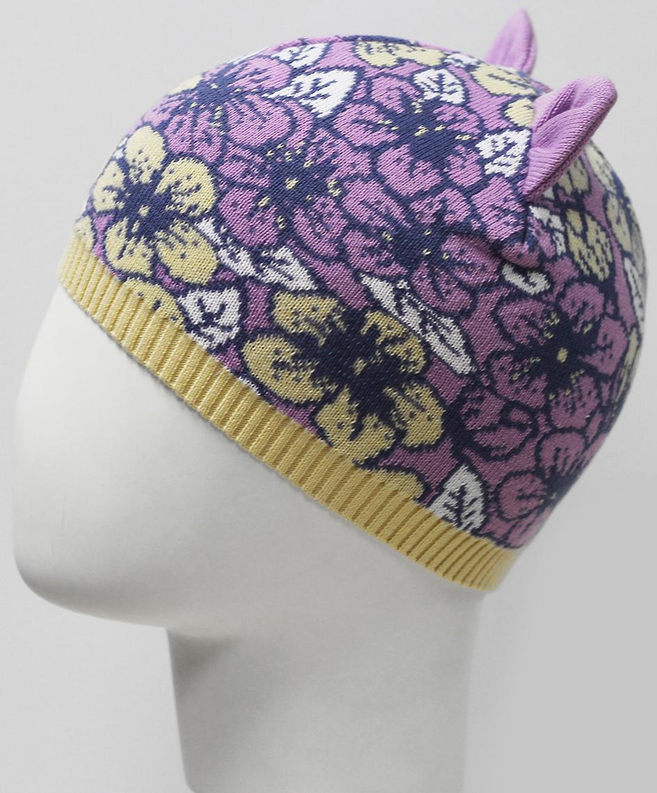 Шапка для девочки Marhatter, цвет: сиреневый. MGH7350. Размер 50/52 косметика для мамы timotei бальзам интенсивное восстановление 200 мл