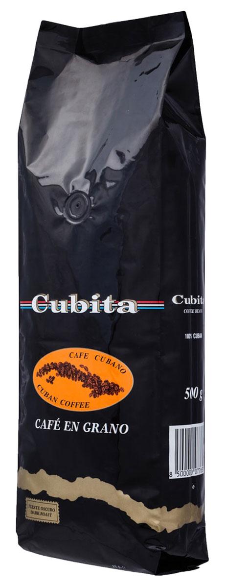 Cubita Cafe en Grano кофе в зернах, 500 гУТ000000769Кубита - это разновидность кофе, выращиваемого в горах восточной части Кубы. Производитель сохранил вековые традиции выращивания, сбора урожая, переработки и обжарки кофе, привнося в процесс производства современные технологии. Благодаря этому кофейный продукт сохранил первоначальный неподражаемый вкус и крепкий аромат и на сегодняшний день является наиболее популярной маркой кубинского кофе.