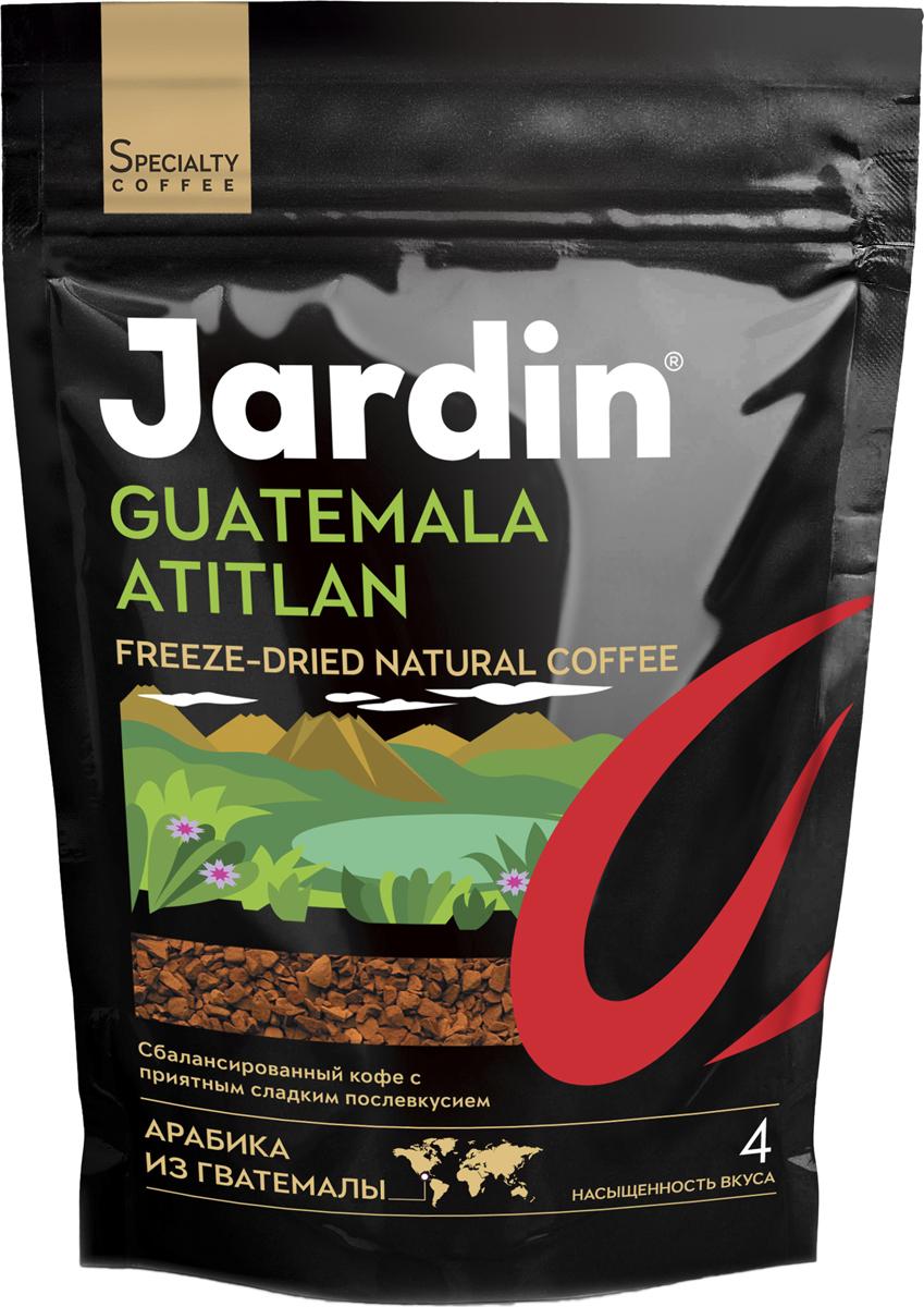 Jardin Guatemala Atitlan кофе растворимый, 75 г (м/у)1015-24Растворимый кофе Jardin Guatemala Atitlan - сбалансированный кофе с приятным фруктовым послевкусием, выращенный в Гватемале.Кофе: мифы и факты. Статья OZON Гид