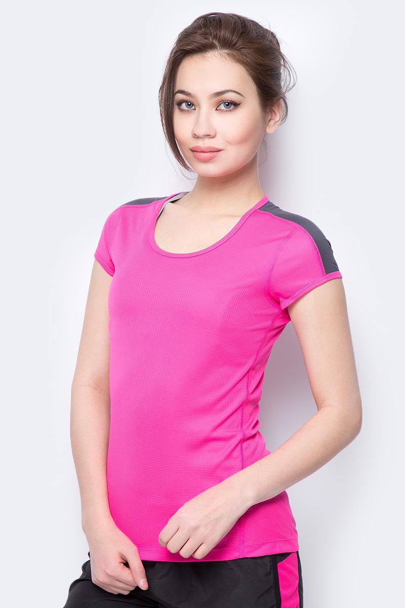 Футболка для бега женская Asics SS Top, цвет: розовый. 154251-0692. Размер XS (42)