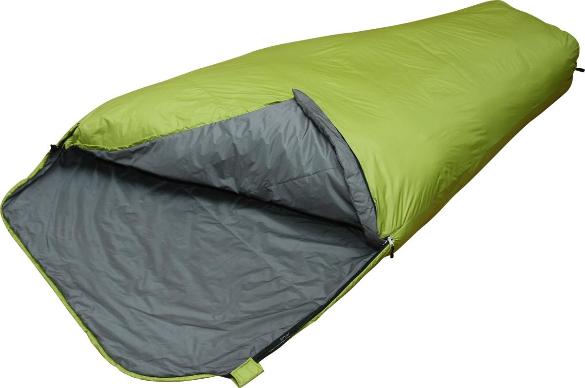 Мешок спальный Сплав Double 60, двухместный, цвет: зеленый, 230 x 120 x 73 см5103250Сплав Double 60 - очень легкий двухместный спальный мешок.Тип конструкции: кокон, для уменьшения веса конструкция упрощена по сравнению с Double 200.Молнии - неразъемные, двухсторонние, однозамковые, расположены с двух сторон спальника.Шейный пакет отсутствует.Утепленная защитная подпланка молнии.Упаковка: компрессионный мешок в комплекте.Возможно использовать в качестве внешнего мешка - конденсатника.Внимание! длительное хранение в сжатом виде не рекомендуется.Температура (при двухместном использовании):Комфорт: +10… +5° С.Экстрим: -6° С.Габариты и вес:Размеры: 230 х 120 х 73 см.Размеры в упакованном виде: диаметр 17 х 33 см.Размеры в сжатом виде: диаметр 17 х 27 см.Полный вес: 0,79 кг.Минимальный вес: 0,74 кг.Материалы:Внешняя ткань: Nylon 6.6 R/S 20D Down Proof Hight Density Teflon DWR Cire.Вес ткани: 32 г/м2.Дышимость ткани: 0,8 см3/см2/с.Внутренняя ткань: Nylon 20D/370T Down Proof W/R Cire.Утеплитель: Primaloft Silver.Плотность утеплителя: 60 г/м2.Количество утеплителя: 340 г.