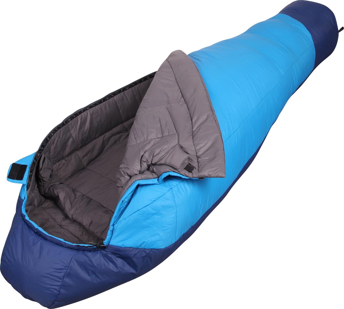 Мешок спальный Сплав Fantasy 233, правосторонняя молния, цвет: голубой, 240 x 90 x 60 см4504962Сплав Fantasy 233 - теплый комфортный спальный мешок.Тип конструкции: кокон.Внутренний кармашек на молнии.Карман под подушку.Удобный кармашек для шнура шейного пакета.Молния - разъемная, двухсторонняя.Молния боковая, смещенная к верхней части спальника.Выпускаются модификации с правой и левой молнией.Утепленный шейный пакет без холодных швов.Утепленная защитная подпланка молнии.Петли для просушки.Возможность использования внутреннего вкладыша для продления срока службы спального мешка.Упаковка: компрессионный мешок в комплекте.Для точного подбора удобного спальника рекомендуем при покупке спальные мешки примерять.Внимание! длительное хранение в сжатом виде не рекомендуется.Температурный режим:Комфорт: +3… -2° С.Экстрим: -18° С.Спальный мешок имеет международный сертификат EN 13537 .Габариты и вес:Размеры: 240 х 90 х 60 см (рост до 205 см).Полный вес: 1,63 кг.Минимальный вес: 1,56 кг.Размеры в упакованном виде: диаметр 24 х 45/35 см.Материалы:Внешняя ткань: Nylon 6.6 R/S 20D Down Proof Hight Density Teflon DWR Cire.Вес ткани: 32 г/м2.Дышимость ткани: 0,8 см3/см2/с.Внутренняя ткань: Nylon 20D/370T Down Proof W/R Cire.Утеплитель: Primaloft Silver.Плотность утеплителя : 100+133 г/м2 .