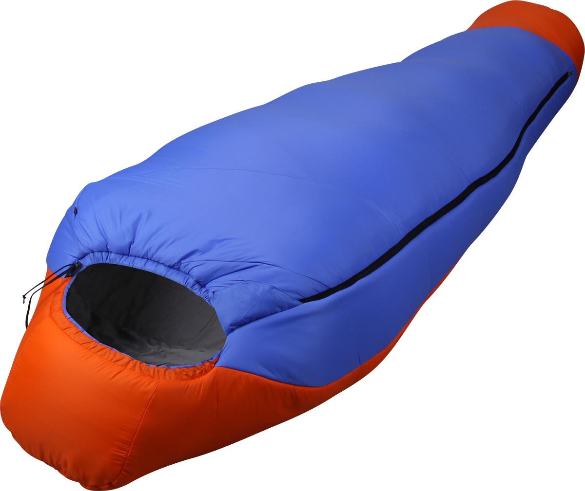 Мешок спальный Сплав Fantasy 340, правосторонняя молния, цвет: синий, оранжевый, 240 x 90 x 60 см4505258Очень теплый комфортный спальный мешок.Тип конструкции: кокон.Внутренний кармашек на молнии.Карман под подушку.Удобный кармашек для шнура шейного пакета.Молния - разъемная, двухсторонняя.Молния боковая, смещенная к верхней части спальника.Выпускаются модификации с правой и левой молнией.Утепленный шейный пакет без холодных швов.Утепленная защитная подпланка молнии.Петли для просушки.Возможность использования внутреннего вкладыша для продления срока службы спального мешка.Упаковка: компрессионный мешок в комплекте.Для точного подбора удобного спальника рекомендуем при покупке спальные мешки примерять.Внимание! длительное хранение в сжатом виде не рекомендуется.Температурный режим:Комфорт: +1… -4° С.Экстрим: -21° С.Спальный мешок имеет международный сертификат EN 13537. Габариты и вес:Размеры: 175?75?45 см (рост до 155 см).Полный вес: 1,36 кг.Минимальный вес: 1,28 кг.Размеры в упакованном виде: диаметр 20?40/30 см.Размеры: 190?75?45 см (рост до 165 см).Полный вес: 1,49 кг.Минимальный вес: 1,42 кг.Размеры в упакованном виде: диаметр 23?37/27 см.Размеры: 205?80?50 см (рост до 175 см).Полный вес: 1,71 кг.Минимальный вес: 1,62 кг.Размеры в упакованном виде: диаметр 23?40/30 см.Размеры: 220?85?55 см (рост до 190 см).Полный вес: 1,90 кг.Минимальный вес: 1,80 кг.Размеры в упакованном виде: диаметр 25?40/30 см.Размеры: 240?90?60 см (рост до 205 см).Полный вес: 2,21 кг.Минимальный вес: 2,11 кг.Размеры в упакованном виде: диаметр 27?46/36 см.Материалы:Внешняя ткань: Nylon 6.6 R/S 20D Down Proof Hight Density Teflon DWR Cire.Вес ткани: 32 г/м2.Дышимость ткани: 0,8 см3/см2/с.Внутренняя ткань: Nylon 20D/370T Down Proof W/R Cire.Утеплитель: Primaloft Silver.Плотность утеплителя : 2*170 г/м2 .