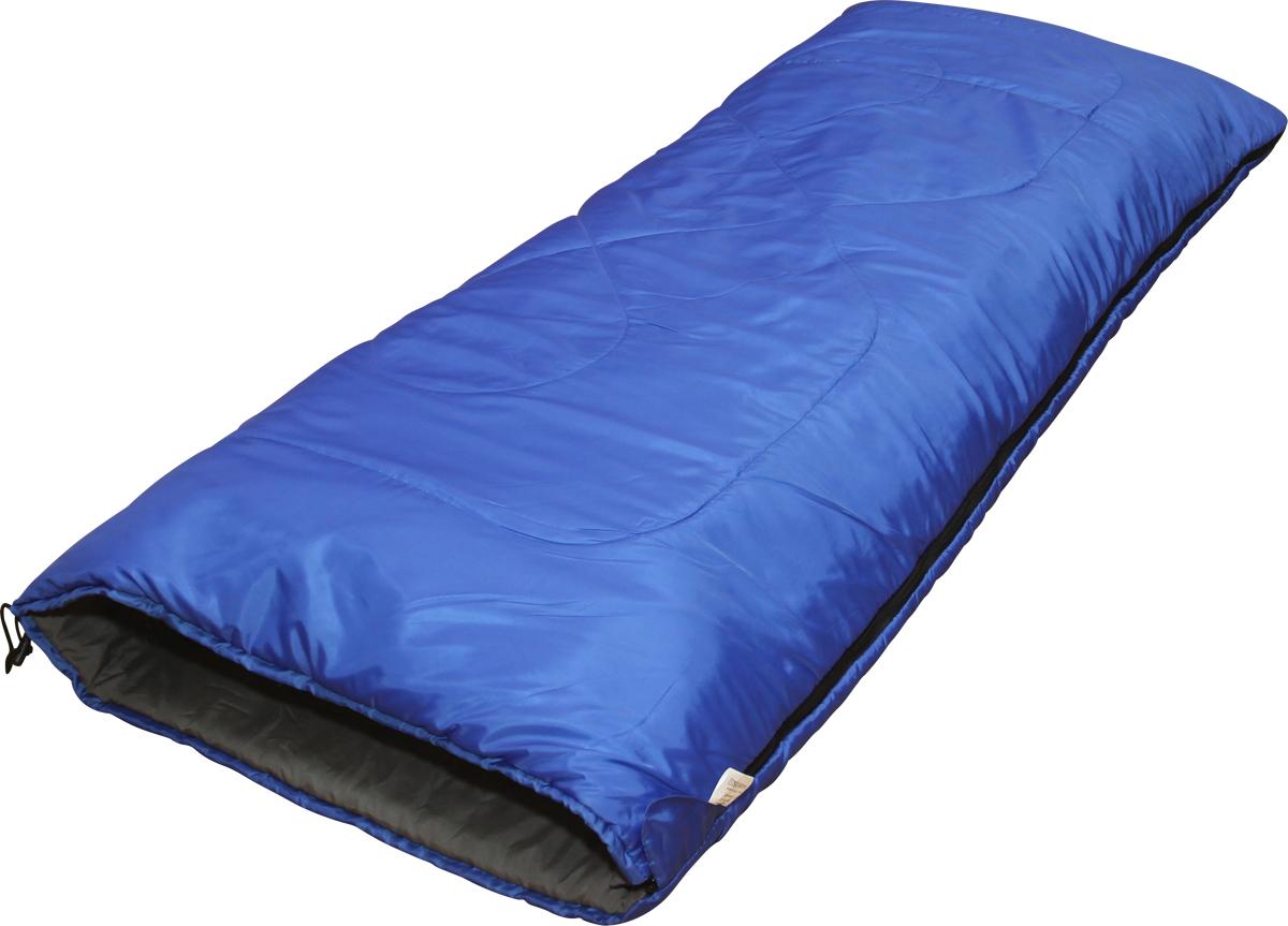 Мешок спальный Сплав Scout 2, правосторонняя молния, цвет: синий, 200 x 80 см термос 1 л stanley adventure зеленый 10 01570 005