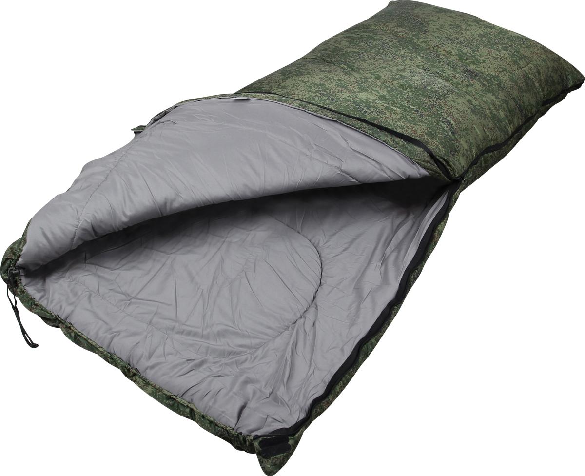 Мешок спальный Сплав Scout 2, левосторонняя молния, цвет: зеленый, 200 x 80 см мешок спальный сплав ranger 2 левосторонняя молния цвет зеленый 210 x 80 x 55 см