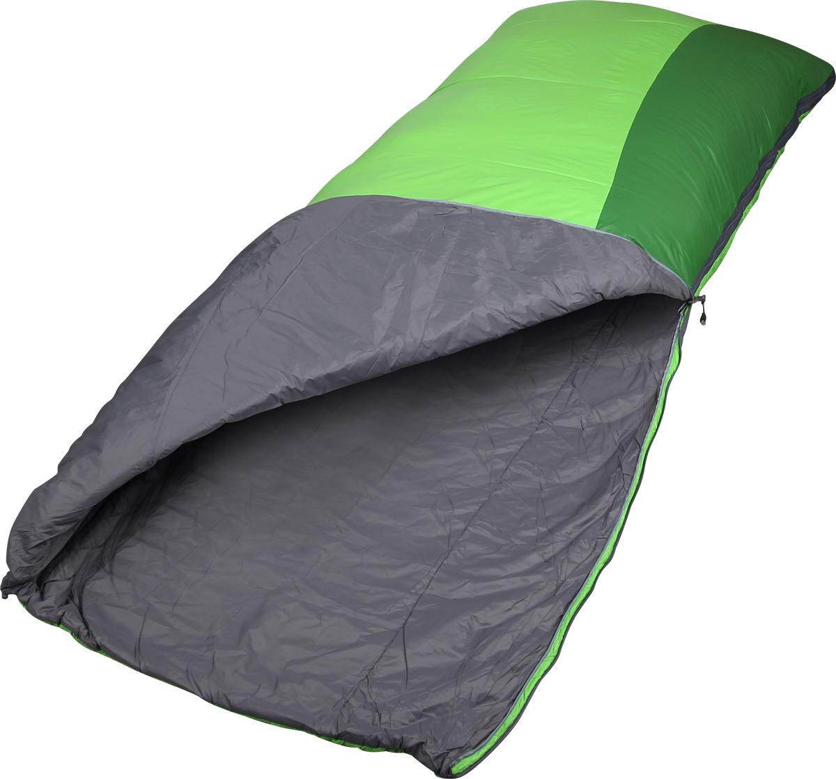 Спальный мешок-одеяло Сплав Veil 120, правосторонняя молния, цвет: зеленый, 195 x 80 см4506651Классический спальный мешок Сплав Veil 120.Тип конструкции: одеяло.Молния разъемная.Спальный мешок можно полностью расстегнуть и использовать в качестве одеяла.Горловина спального мешка утягивается эластичным шнуром с фиксатором.Компрессионный мешок в комплекте.Внимание! Длительное хранение в сжатом виде не рекомендуется. Упаковку в компрессионный мешок следует производить произвольно сминая спальный мешок, а не аккуратно скатывая, т.к. при этом минимально деформируется утеплитель.Материалы:Внешняя ткань: Nylon 6.6 R/S 20D Down Proof Hight Density Teflon DWR Cire.Вес ткани: 32 г/м2.Дышимость ткани: 0,8 см3/см2/с.Внутренняя ткань: Nylon 20D/370T Down Proof W/R Cire.Утеплитель: Primaloft Silver.Плотность утеплителя : 2 х 60 г/м2 .Температурный режим:Комфорт: +10… +2° С.Экстрим: -12° С.Габариты и вес:Размеры: 195 х 80 см.Полный вес: 0,89 кг.Минимальный вес: 0,81 кг.Размеры в упакованном виде: диаметр 20 х 40/20 см.