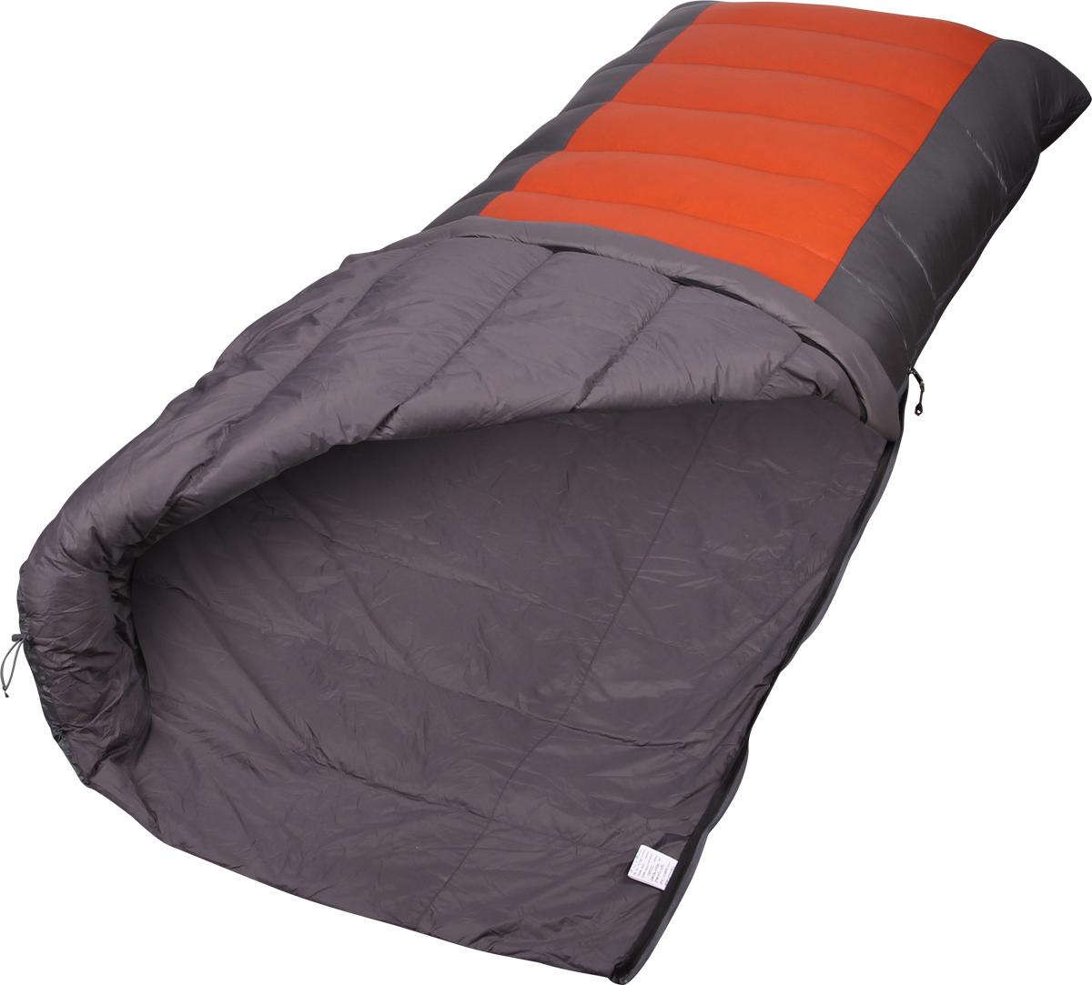 Мешок-одеяло спальный Сплав Cloud Light, правосторонняя молния, цвет: серый, терракотовый, 195 x 80 см4507397Сплав Cloud Light - сверхлёгкий тёплый комфортный пуховой спальный мешок-одеяло.Cloud light представляет собой высококачественный классический прямоугольный спальный мешок. Предоставить вам максимум тепла и комфорта - призвание этого просторного, особенно в области ног, но удивительно легкого и компактного в транспортировке спальника. Cloud light - идеальный выбор для тех, кто хочет отдохнуть с комфортом.Тип конструкции: одеяло.Сквозные швы.Молния разъёмная двухзамковая с внутренней планкой, утеплённой Primaloft.Спальный мешок можно полностью расстегнуть и использовать в качестве одеяла.Горловина спального мешка утягивается эластичным шнуром с фиксатором.Петли для просушки.Упаковка: компрессионный мешок в комплекте.Материалы:Ткань верха: 100% нейлон 20D, 35 г/м2, Ripstop, DWR.Подкладка: 100% нейлон 20D, 36 г/м2, DWR.Утеплитель: Высококачественный серый гусиный пух Каригуз с гидрофобной обработкой Nikwax FP 680.Температура:Комфорт: +6… +2° С.Экстрим: -13° С.Габариты и вес:Размеры: 195 х 80 см.Размеры в упакованном виде: диаметр 15 х 34 см.Размеры в сжатом виде: диаметр 15 х 20 см.Полный вес: 0,78 кг.Вес утеплителя: 300 г.