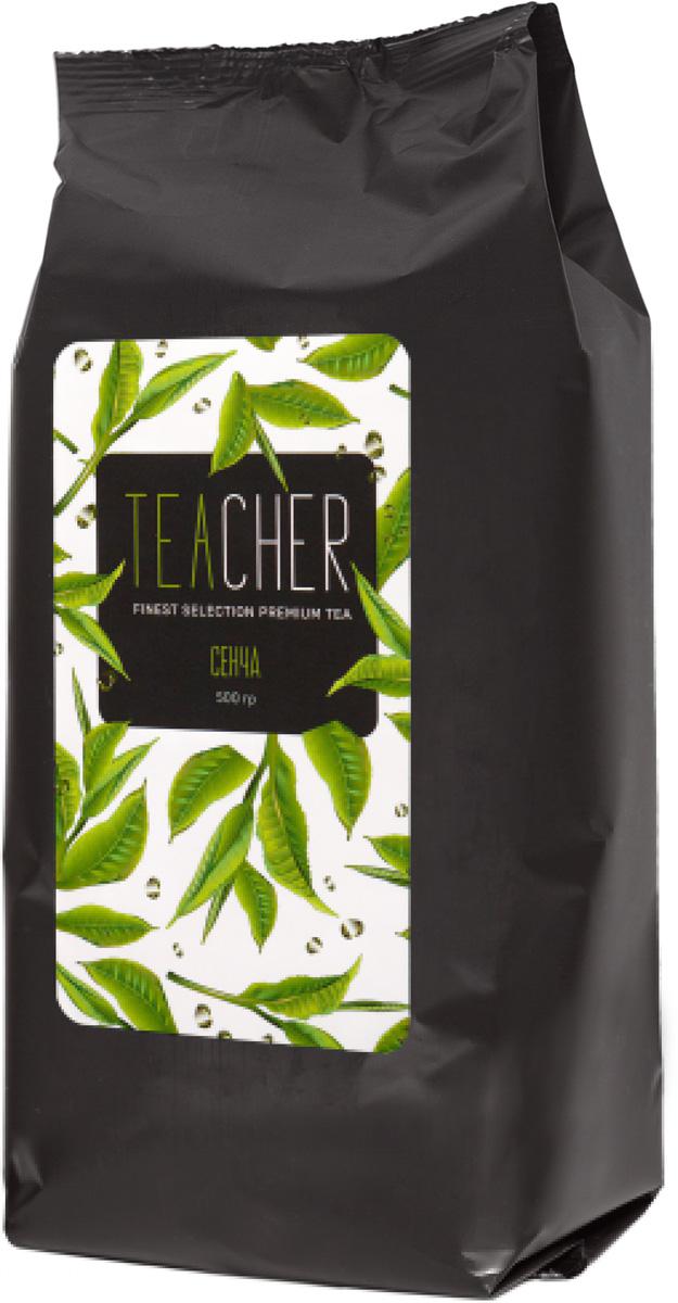 Teacher Сенча листовой чай премиум, 500 г kim  marshall rethinking teacher