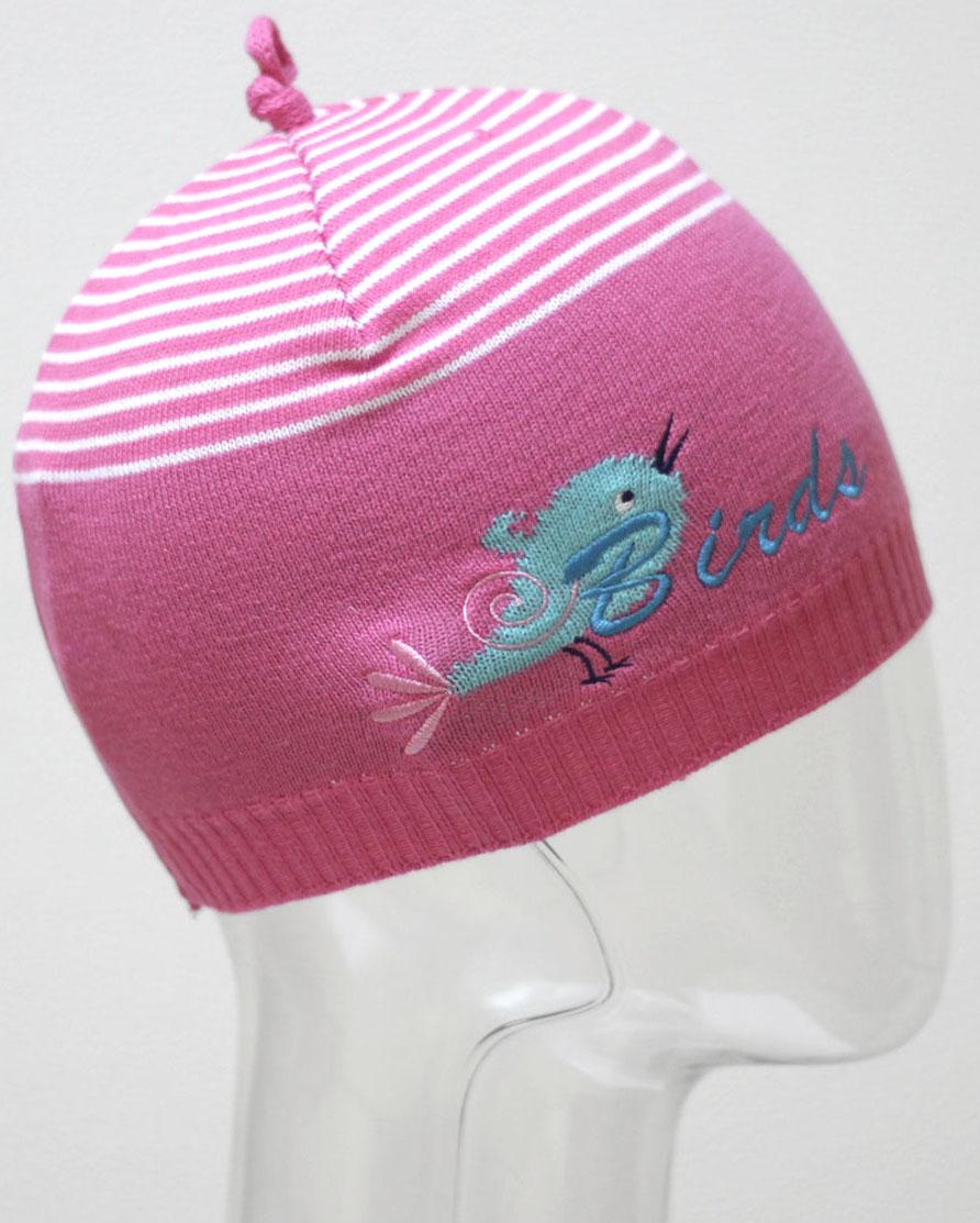 Шапка для девочки Marhatter, цвет: розовый. MGH6403. Размер 50/52