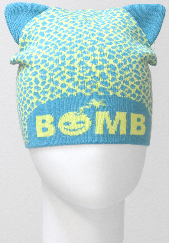 Шапка для девочки Marhatter, цвет: бирюза. MGH6330. Размер 50/52MGH6330Хлопковая шапка - кошка Marhatter - очень актуальная тема в текущем сезоне. Подчеркнет индивидуальность. Уважаемые клиенты!Размер, доступный для заказа, является обхватом головы.