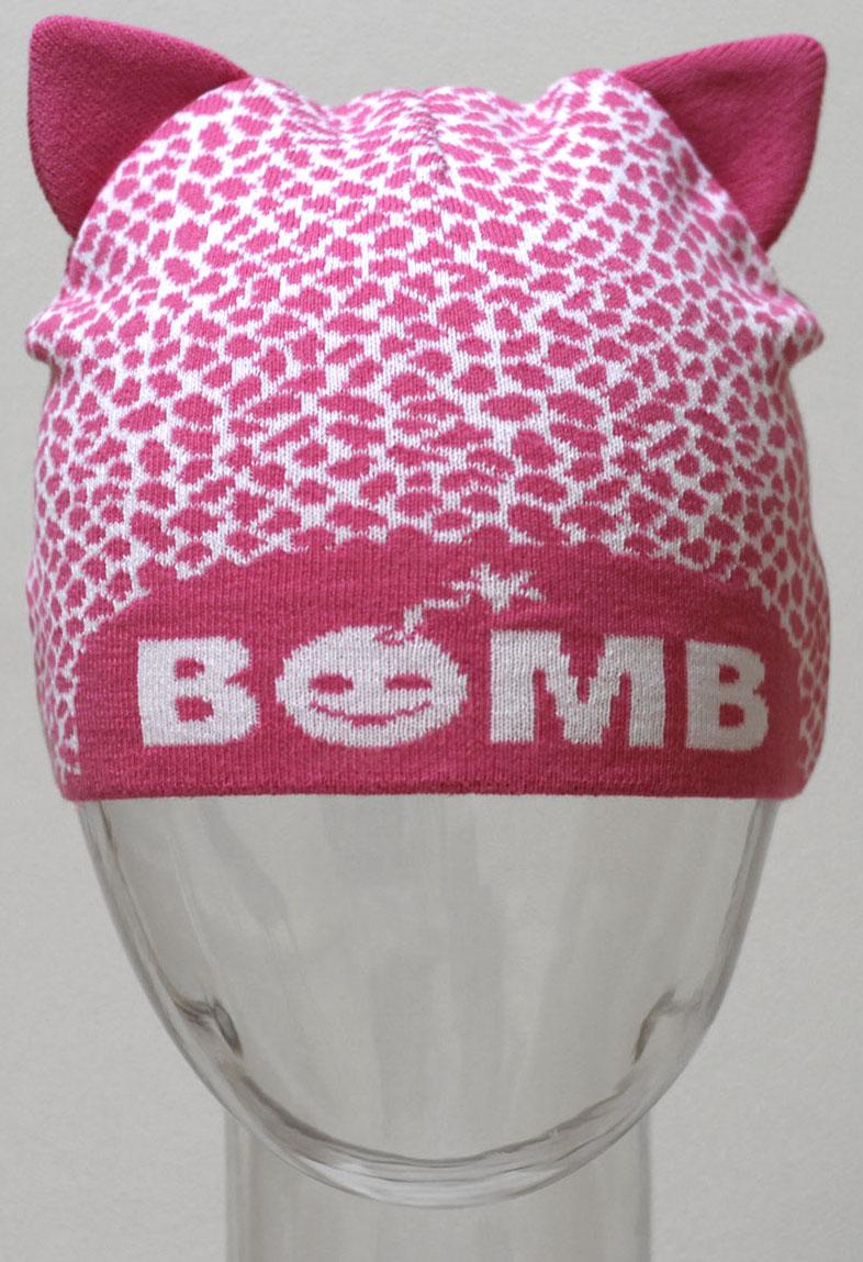 Шапка для девочки Marhatter, цвет: розовый. MGH6330. Размер 50/52MGH6330Хлопковая шапка-кошка Marhatter - очень актуальная тема в текущем сезоне. Подчернёт индивидуальность. Уважаемые клиенты!Размер, доступный для заказа, является обхватом головы.
