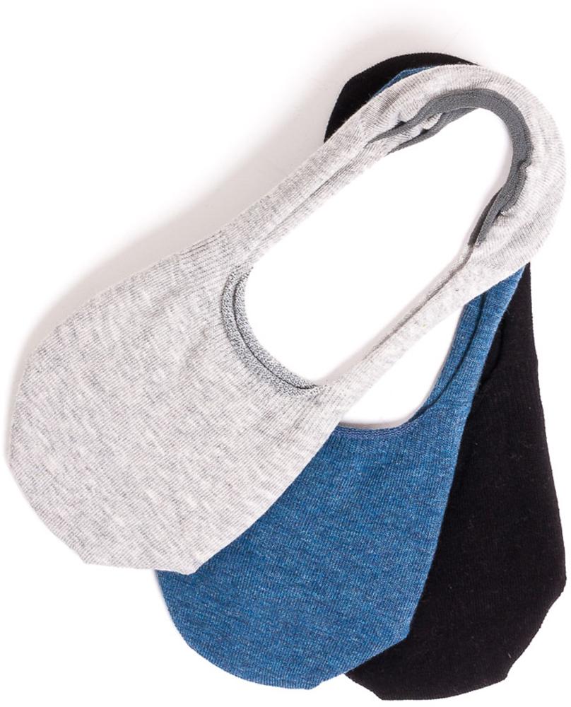 Носки мужские Mark Formelle, цвет: светло-серый, 3 пары. 070A-130. Размер 44/45070A-130Короткие носки Mark Formelle, изготовленные из высококачественного комбинированного материала, очень мягкие и приятные на ощупь, позволяют коже дышать.