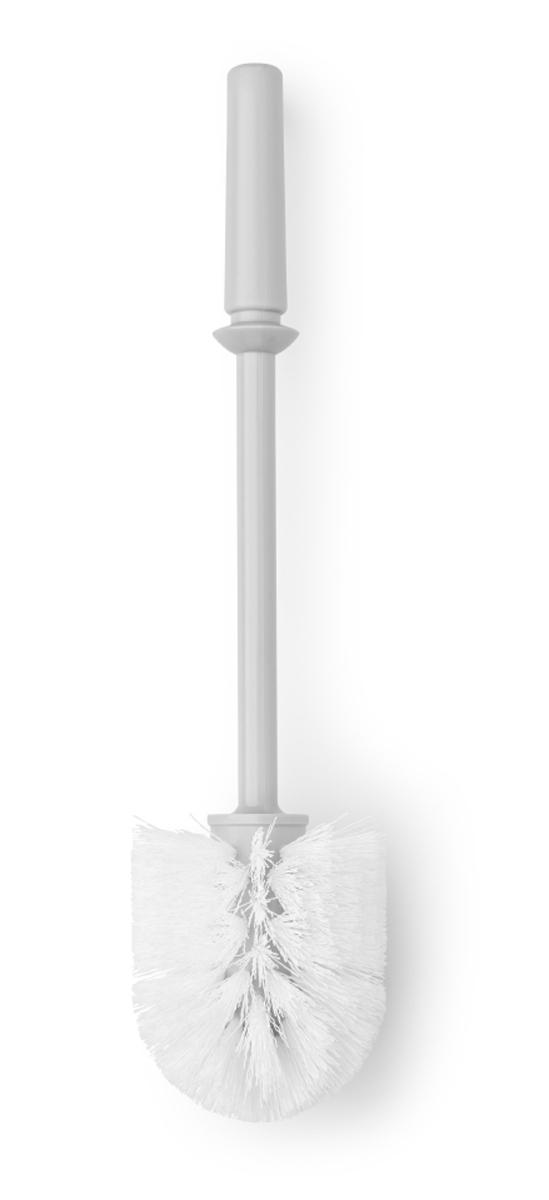 """Ершик """"Brabantia"""" изготовлен из пластика. Щетка легко чистится и имеет  длительный срок службы. Превосходно сочетается с держателем для туалетной бумаги, мусорными  баками и другими изделиями Brabantia."""