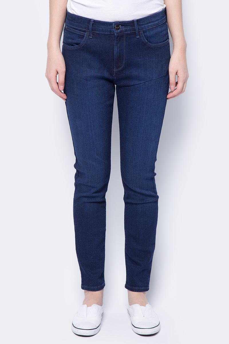 Джинсы женские Wrangler High Skinny, цвет: синий. W27HX786N. Размер 34-32 (50-32) джинсы женские wrangler цвет синий w27hx786n размер 29 32 44 46 32