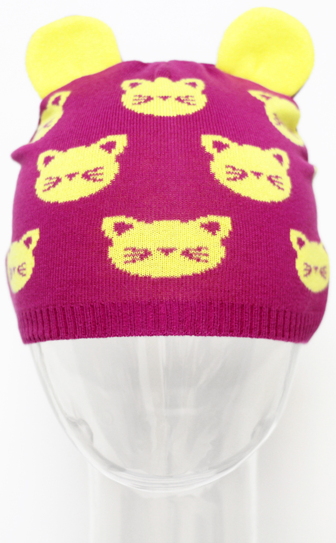 Шапка для девочки Marhatter, цвет: сиреневый. MGH5500. Размер 50/52 шапка для девочки marhatter цвет сиреневый mdh7223 размер 40 42