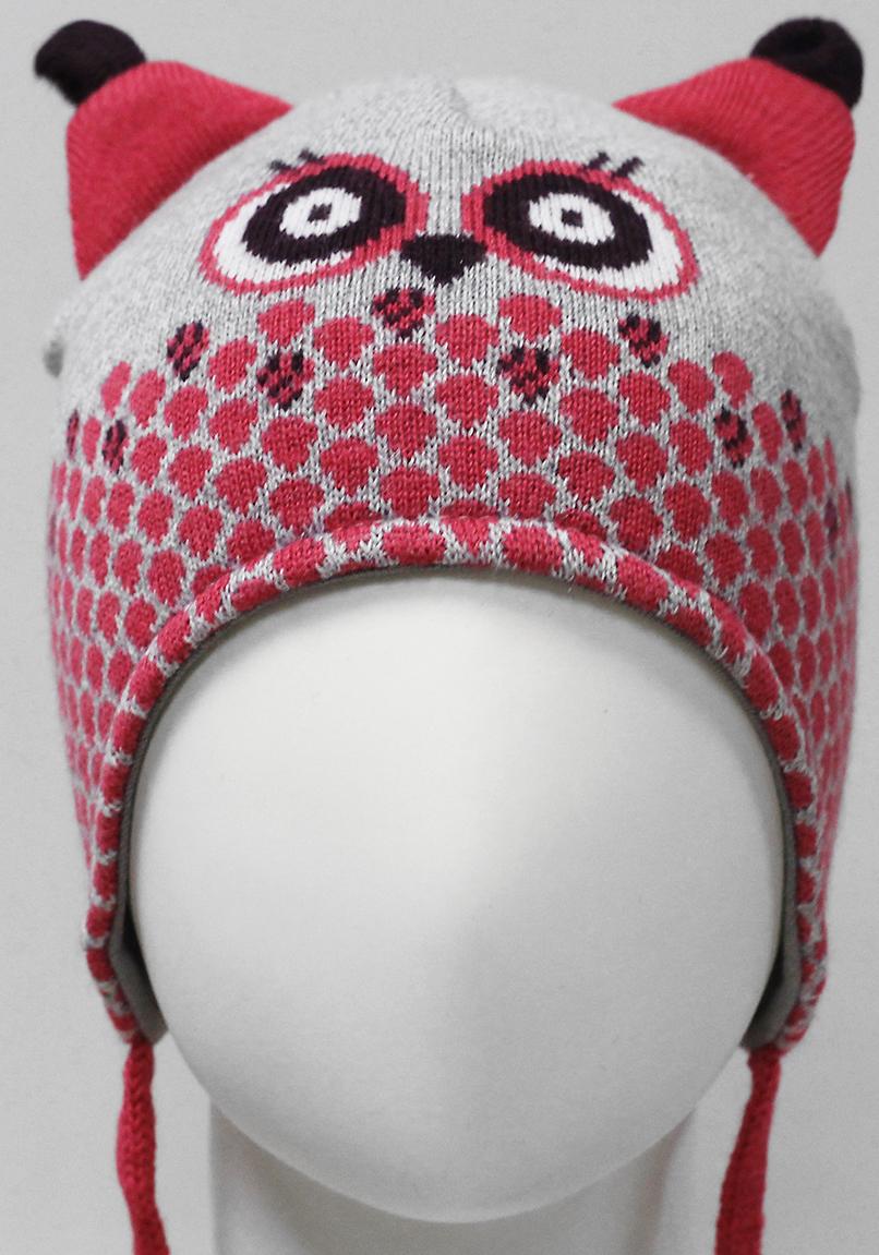 Шапка для девочки Marhatter, цвет: серый. MDU7450/5. Размер 44/46MDU7450/5Яркая забавная шапка с удлиненными боковыми частямиMarhatter станет отличным дополнением гардероба маленькой принцессы. Модель на завязках выполнена из натурального хлопка на хлопковой подкладке. Уважаемые клиенты!Размер, доступный для заказа, является обхватом головы.