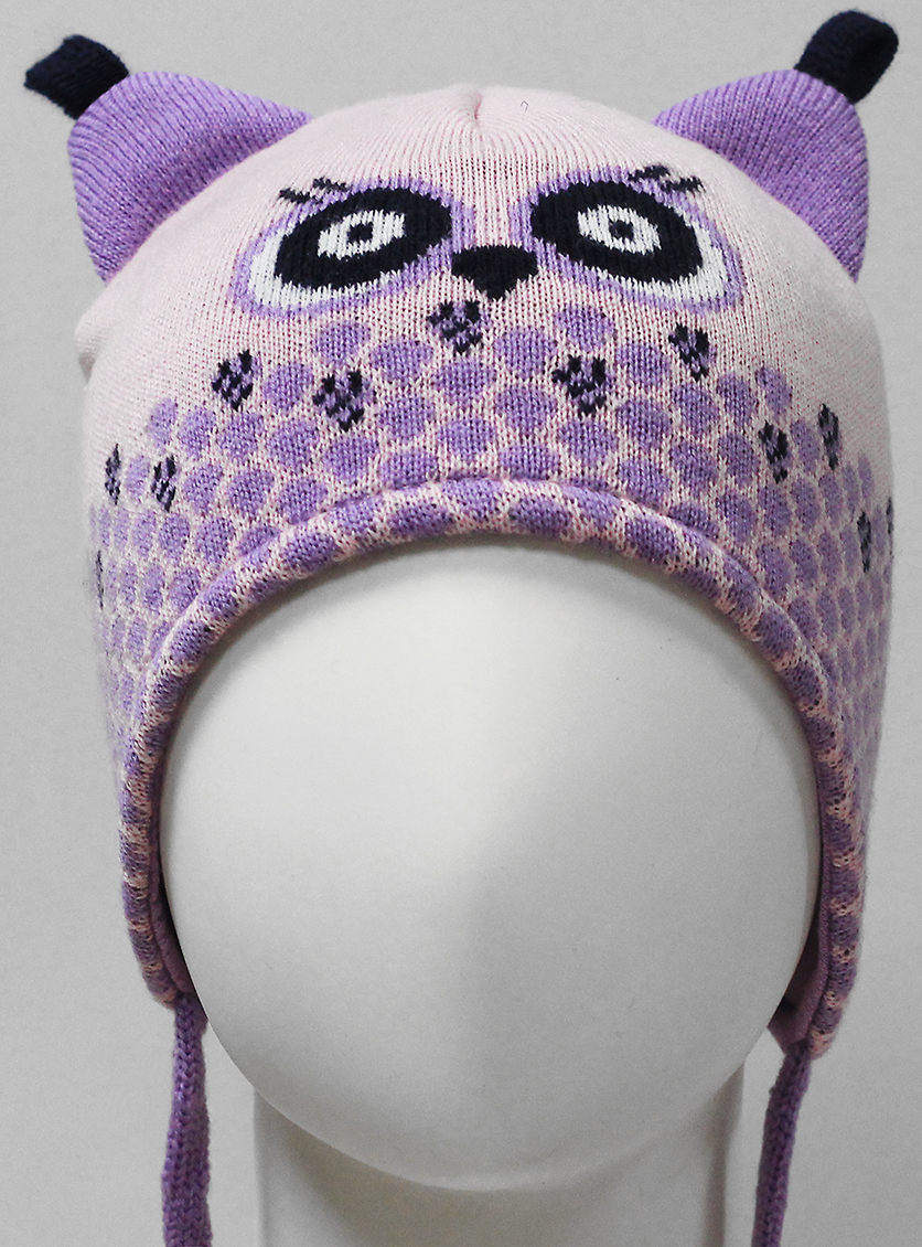 Фото - Шапка для девочки Marhatter, цвет: розовый. MDU7450/5. Размер 44/46 шапка для девочки marhatter цвет розовый mdh7263 размер 46 48