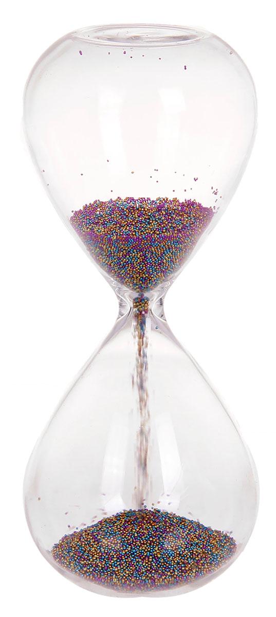 Песочные часы Разноцветные гранулы, 6 х 15 см1030932Каждому хозяину периодически приходит мысль обновить свою квартиру, сделать ремонт, перестановку или кардинально поменять внешний вид каждой комнаты. Часы песочные Радуга — привлекательная деталь, которая поможет воплотить вашу интерьерную идею, создать неповторимую атмосферу в вашем доме. Окружите себя приятными мелочами, пусть они радуют глаз и дарят гармонию.Часы песочные стекло Разноцветные гранулы из пластика 6*15см 1030932