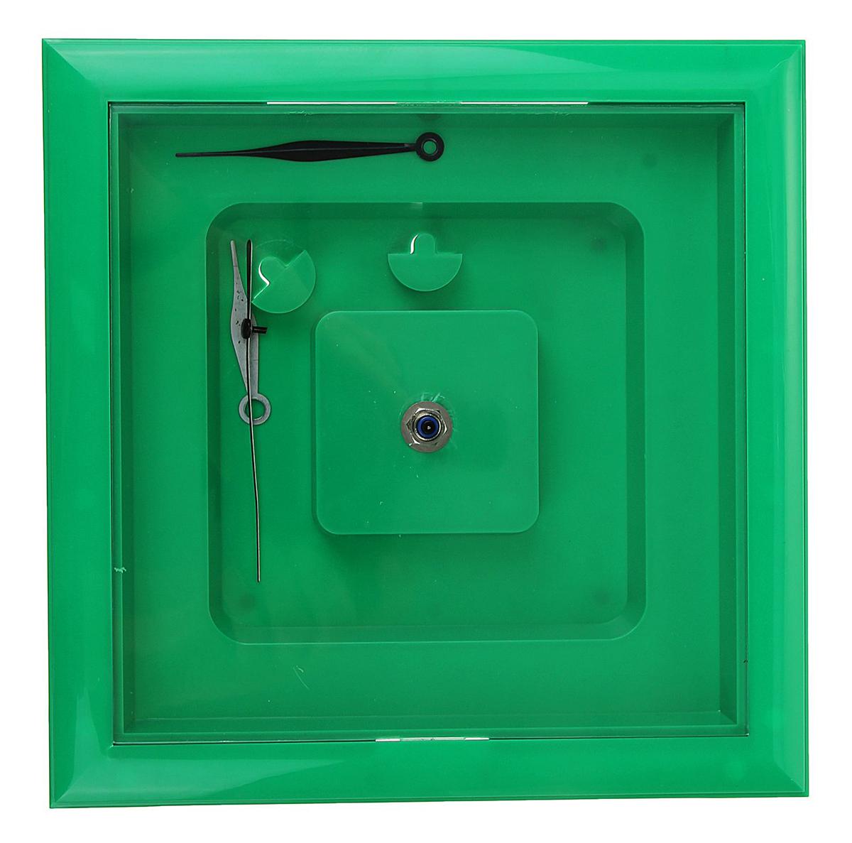 Каждому хозяину периодически приходит мысль обновить свою квартиру, сделать ремонт, перестановку или кардинально поменять внешний вид каждой комнаты. Часы-конструктор под нанесение, квадратные, зеленые — привлекательная деталь, которая поможет воплотить вашу интерьерную идею, создать неповторимую атмосферу в вашем доме. Окружите себя приятными мелочами, пусть они радуют глаз и дарят гармонию.Часы-конструктор под нанесение квадратные, зеленые 1128064