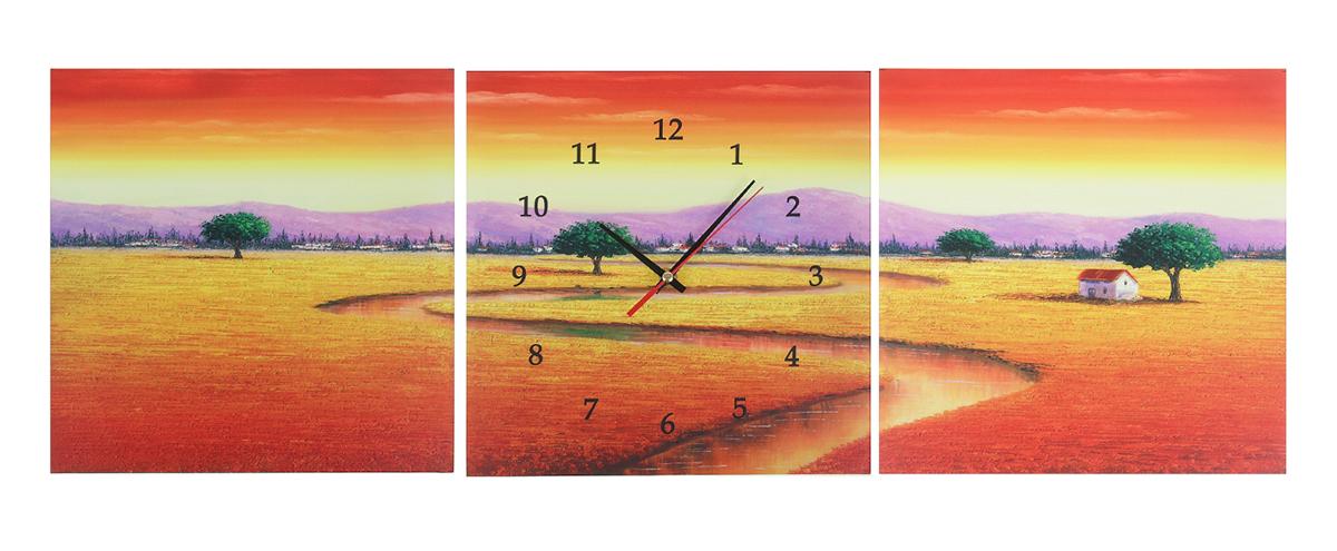 Часы-картина настенные Дорога, 30 х 30 см127120Каждому хозяину периодически приходит мысль обновить свою квартиру, сделать ремонт, перестановку или кардинально поменять внешний вид каждой комнаты. Настенные часы-картина 3 в 1 Дорога, 30 ? 30 см — привлекательная деталь, которая поможет воплотить вашу интерьерную идею, создать неповторимую атмосферу в вашем доме. Окружите себя приятными мелочами, пусть они радуют глаз и дарят гармонию.Часы настенные картина 3в1 Дорога 30х30 127120