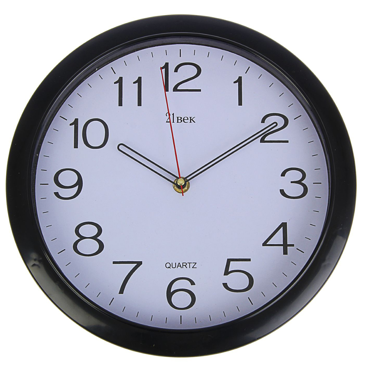 Часы настенные 21 Век Черная классика, диаметр 30 см1310781Каждому хозяину периодически приходит мысль обновить свою квартиру, сделать ремонт, перестановку или кардинально поменять внешний вид каждой комнаты. Часы настенные круглые Классика, d=30 см, черные — привлекательная деталь, которая поможет воплотить вашу интерьерную идею, создать неповторимую атмосферу в вашем доме. Окружите себя приятными мелочами, пусть они радуют глаз и дарят гармонию. Часы настенные круглые Классика, d=30 см, черные — сувенир в полном смысле этого слова. И главная его задача — хранить воспоминание о месте, где вы побывали, или о том человеке, который подарил данный предмет. Преподнесите эту вещь своему другу, и она станет достойным украшением его дома.Часы настенные круглые Черная классика, 30 см 1310781