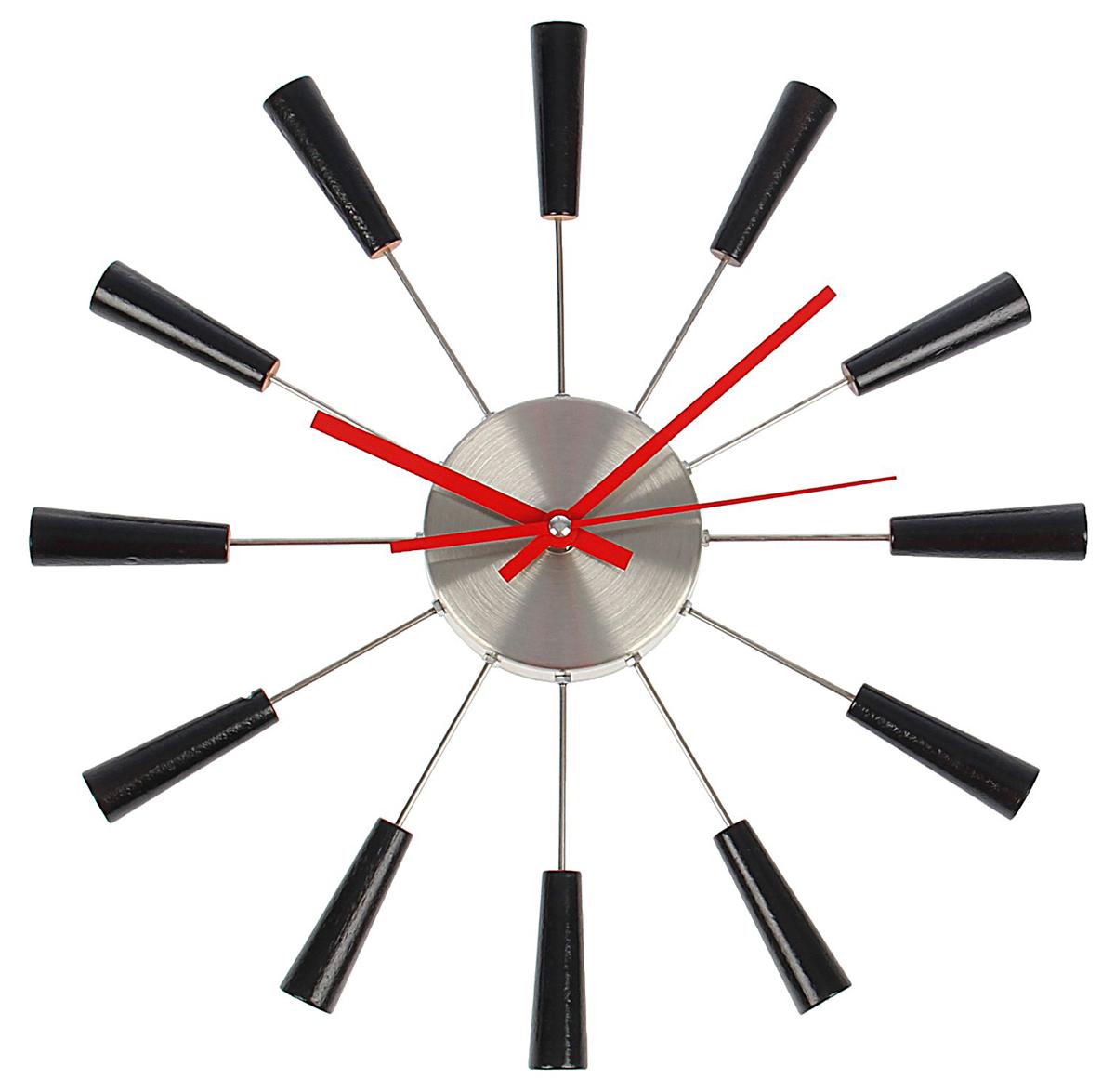 Часы настенные Черные конусы, диаметр 36 см хочу продать свою квартиру которая менее 3х лет и другую какие налоги надо заплатить