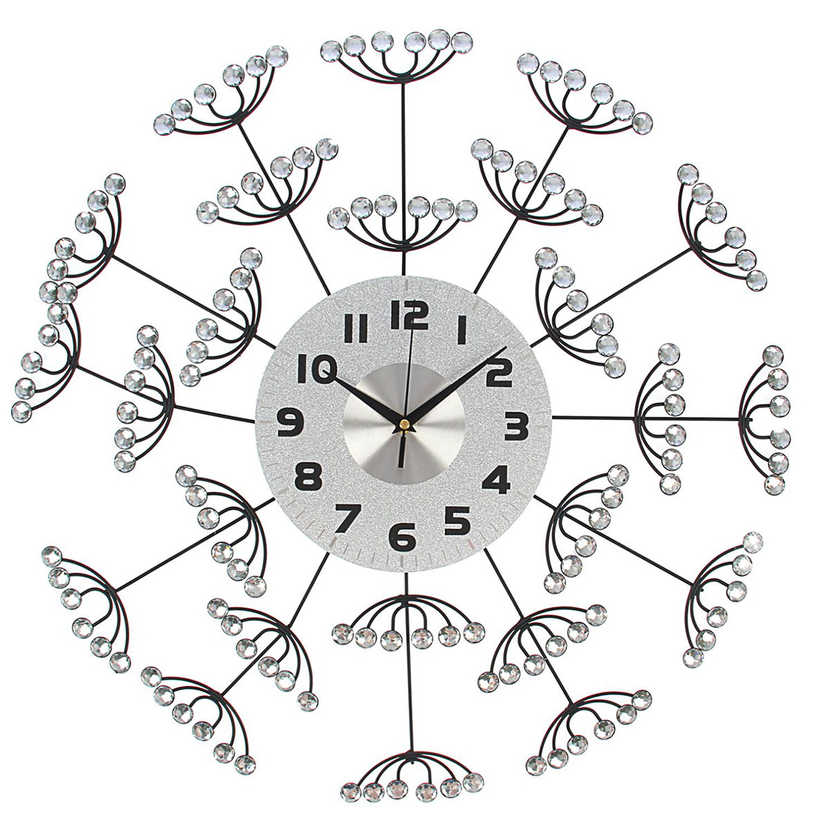 Часы настенные Ажур. Кисти рябины, диаметр 59 см1550658Каждому хозяину периодически приходит мысль обновить свою квартиру, сделать ремонт, перестановку или кардинально поменять внешний вид каждой комнаты. Часы настенные интерьерные Серия Ажур. Гроздья рябины, d=59 см — привлекательная деталь, которая поможет воплотить вашу интерьерную идею, создать неповторимую атмосферу в вашем доме. Окружите себя приятными мелочами, пусть они радуют глаз и дарят гармонию.Часы настенные серии Ажур Кисти рябины d=59см 1550658