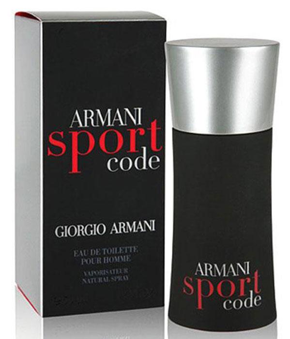 Armani Code Sport туалетная вода мужская, 50 мл949585Состав композиции Armani Code Sport включает ноты лимона и мандарина, голубой мяты и имбиря, ветивера и амбры.