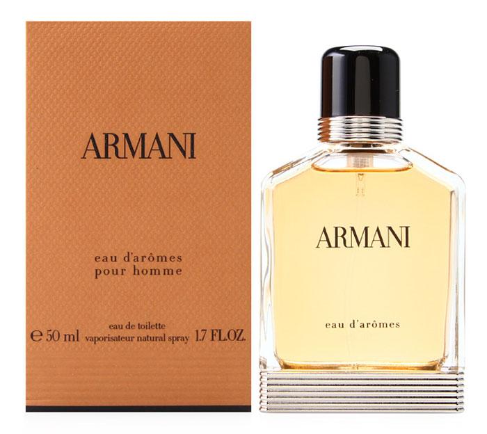 Armani Eau D'Aromes туалетная вода мужская, 50 мл cacharel туалетная вода женская amor amor l eau 50 мл os