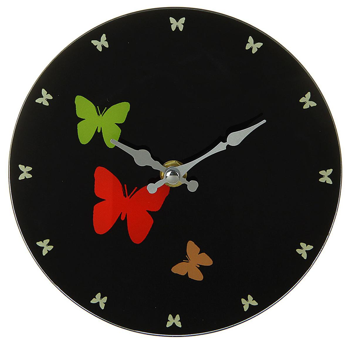 Часы настенные Есения. Бабочки, с подставкой, диаметр 17 см хочу продать свою квартиру которая менее 3х лет и другую какие налоги надо заплатить